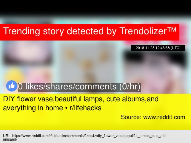 DIY flower vase,beautiful lamps, cute albums,and averything