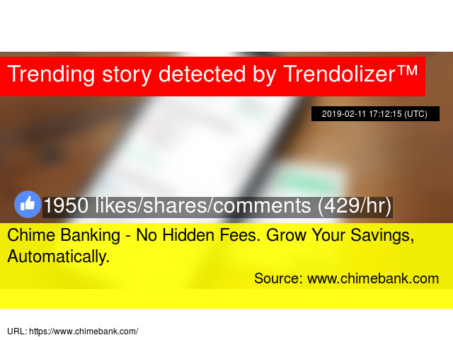 Chime Banking - No Hidden Fees  Grow Your Savings
