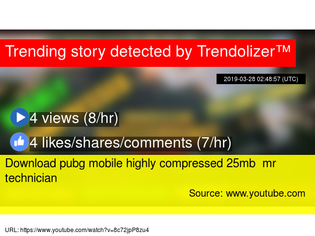 Download pubg mobile highly compressed 25mb mr technician